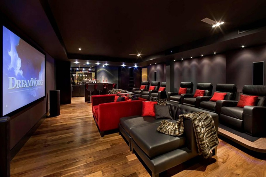 Big Screen Experience at Home | Custom Home Theater, Oakville ...